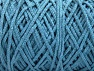Fiber Content 100% Cotton, Light Blue, Brand ICE, Yarn Thickness 5 Bulky  Chunky, Craft, Rug, fnt2-60174