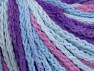 Fiber Content 50% Acrylic, 50% Polyamide, Orchid, Lilac, Brand ICE, Blue Shades, Yarn Thickness 4 Medium  Worsted, Afghan, Aran, fnt2-60365