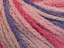 Fiber Content 50% Acrylic, 50% Polyamide, Pink Shades, Lilac, Brand ICE, Yarn Thickness 4 Medium  Worsted, Afghan, Aran, fnt2-60367