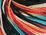 Fiber Content 100% Acrylic, White, Turquoise, Salmon, Orange, Brand ICE, Black, fnt2-60464