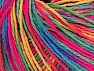 Fiber Content 100% Acrylic, Neon Pink, Brand ICE, Green, Gold, Blue, Yarn Thickness 2 Fine  Sport, Baby, fnt2-60467