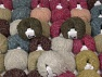 Kan Mohair This mixed lot includes a total of 2000 gr (70.5 oz.) yarn. There is no standard for ball weight. Also disregard any information on the labels. You will get what you see in the photo. Fiber Content 45% Acrylic, 25% Wool, 20% Mohair, 10% Polyamide, Brand ICE, fnt2-60792