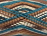 Fiber Content 75% Superwash Wool, 25% Polyamide, Turquoise, Pink, Brand ICE, Cream, Brown Shades, Yarn Thickness 1 SuperFine  Sock, Fingering, Baby, fnt2-60906