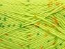 Fiber Content 100% Acrylic, Light Green, Brand ICE, Gold, Dark Green, Yarn Thickness 2 Fine  Sport, Baby, fnt2-60915