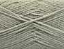 Fiber Content 100% Acrylic, Light Grey, Brand ICE, Yarn Thickness 4 Medium  Worsted, Afghan, Aran, fnt2-60956