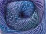 Fiber Content 75% Premium Acrylic, 15% Wool, 10% Mohair, Purple, Lilac, Brand ICE, Green, Blue Shades, fnt2-61005