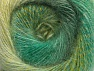 Fiber Content 75% Premium Acrylic, 15% Wool, 10% Mohair, Brand ICE, Green Shades, fnt2-61007