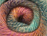 Fiber Content 75% Premium Acrylic, 15% Wool, 10% Mohair, Turquoise, Purple, Pink, Mint Green, Brand ICE, Gold, fnt2-61010