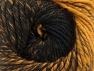 Fiber Content 75% Premium Acrylic, 25% Wool, Brand ICE, Gold, Black, Yarn Thickness 4 Medium  Worsted, Afghan, Aran, fnt2-61019