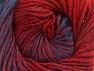 Fiber Content 75% Premium Acrylic, 25% Wool, Red, Brand ICE, Blue, fnt2-61021