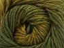 Fiber Content 75% Premium Acrylic, 25% Wool, Brand ICE, Green Shades, fnt2-61024