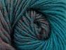 Fiber Content 75% Premium Acrylic, 25% Wool, Turquoise, Rose Brown, Brand ICE, fnt2-61026