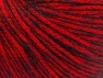 Fiber Content 85% Acrylic, 15% Bamboo, Red, Brand ICE, Black, fnt2-61097