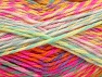 Fiber Content 100% Premium Acrylic, Yellow, Pink, Orange, Mint Green, Lilac, Brand ICE, Yarn Thickness 4 Medium  Worsted, Afghan, Aran, fnt2-61113