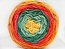Fiber Content 100% Acrylic, Yellow, Salmon, Orange, Brand ICE, Green Shades, fnt2-61168