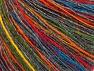 Fiber Content 60% Acrylic, 30% Wool, 10% Viscose, Rainbow, Brand ICE, Grey, fnt2-61780