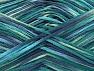 Fiber Content 100% Acrylic, Turquoise, Navy, Brand ICE, Green, fnt2-62206