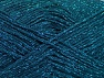 Fiber Content 75% Viscose, 25% Metallic Lurex, Turquoise, Brand ICE, fnt2-62248