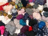 Leftover Yarns This mixed lot includes unlabeled leftover yarns. There is no standard for fiber content and ball weight. The total weight is 2000 gr (70.5 oz.). You will get what you see in the photo. Brand ICE, fnt2-62437