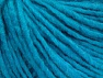 Fiber Content 50% Wool, 50% Acrylic, Turquoise, Brand ICE, Yarn Thickness 4 Medium  Worsted, Afghan, Aran, fnt2-62560