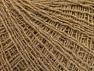 Fiber Content 45% Acrylic, 45% Wool, 10% Metallic Lurex, Brand ICE, Gold, Camel, Yarn Thickness 1 SuperFine  Sock, Fingering, Baby, fnt2-62566