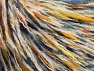 Fiber Content 50% Wool, 5% Metallic Lurex, 45% Acrylic, Yellow, White, Brand ICE, Gold, Blue, fnt2-62604