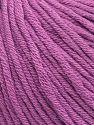 Fiber Content 50% Acrylic, 50% Cotton, Lavender, Brand ICE, fnt2-62751