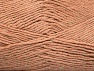 Fiber Content 49% Cotton, 49% Premium Acrylic, 2% Metallic Lurex, Light Salmon, Brand ICE, fnt2-62887