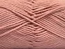 Fiber Content 55% Cotton, 45% Acrylic, Powder Pink, Brand ICE, Yarn Thickness 4 Medium  Worsted, Afghan, Aran, fnt2-63102