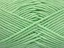 Fiber Content 55% Cotton, 45% Acrylic, Mint Green, Brand ICE, Yarn Thickness 4 Medium  Worsted, Afghan, Aran, fnt2-63105