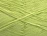 Fiber Content 55% Cotton, 45% Acrylic, Light Green, Brand ICE, Yarn Thickness 1 SuperFine  Sock, Fingering, Baby, fnt2-63118