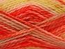 SuperBulky  Fiber Content 70% Acrylic, 30% Angora, Yellow, Orange, Brand ICE, fnt2-63142