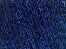 Fiber Content 70% Polyamide, 30% Metallic Lurex, Brand ICE, Blue, Black, fnt2-63150