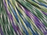 Fiber Content 65% Wool, 35% Acrylic, White, Lilac, Brand ICE, Green, Blue, Yarn Thickness 4 Medium  Worsted, Afghan, Aran, fnt2-63172