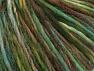 Magic Wool Worsted Green Shades, Brown