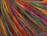 Fiber Content 65% Wool, 35% Acrylic, Rainbow, Brand ICE, Yarn Thickness 4 Medium  Worsted, Afghan, Aran, fnt2-63179