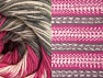 Fiber Content 70% Acrylic, 30% Wool, Pink, Brand ICE, Grey, Cream, Yarn Thickness 3 Light  DK, Light, Worsted, fnt2-63208