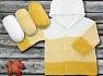Fiber Content 100% Antipilling Acrylic, Yellow, White, Brand ICE, fnt2-63243