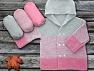 Fiber Content 100% Antipilling Acrylic, Pink, Brand ICE, Grey, fnt2-63244