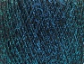 Fiber Content 70% Polyamide, 30% Metallic Lurex, Turquoise, Brand ICE, Black, fnt2-63285