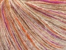 Fiber Content 35% Polyamide, 35% Kid Mohair, 30% Acrylic, White, Orange, Lilac, Brand ICE, fnt2-63287