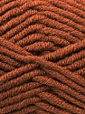 Fiber Content 50% Acrylic, 50% Merino Wool, Brand KUKA, Brown, Yarn Thickness 5 Bulky  Chunky, Craft, Rug, fnt2-16725