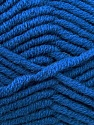Fiber Content 50% Merino Wool, 50% Acrylic, Brand KUKA, Blue, Yarn Thickness 5 Bulky  Chunky, Craft, Rug, fnt2-16727
