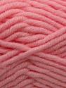 Fiber Content 50% Acrylic, 50% Merino Wool, Brand KUKA, Baby Pink, Yarn Thickness 5 Bulky  Chunky, Craft, Rug, fnt2-16732