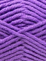 Fiber Content 50% Acrylic, 50% Merino Wool, Violet, Brand KUKA, Yarn Thickness 5 Bulky  Chunky, Craft, Rug, fnt2-16733