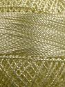 Fiber Content 100% Micro Fiber, Brand YarnArt, Light Yellow, Yarn Thickness 0 Lace  Fingering Crochet Thread, fnt2-17309