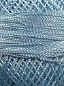 Fiber Content 100% Micro Fiber, Brand YarnArt, Light Blue, Yarn Thickness 0 Lace  Fingering Crochet Thread, fnt2-17320