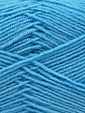 Fiber Content 55% Virgin Wool, 5% Cashmere, 40% Acrylic, Light Blue, Brand ICE, Yarn Thickness 2 Fine  Sport, Baby, fnt2-21120