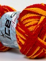 Fiber Content 100% Acrylic, Yellow, Red, Brand ICE, Yarn Thickness 6 SuperBulky  Bulky, Roving, fnt2-24958