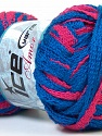 Fiber Content 100% Acrylic, Pink, Brand ICE, Blue, Yarn Thickness 6 SuperBulky  Bulky, Roving, fnt2-24961
